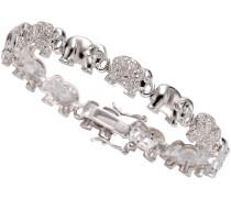 Armband »Elefanten« mit Zirkonia