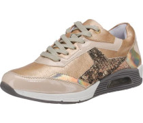 Sneakers champagner