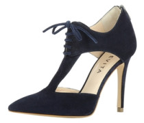 Damen Pumps halboffen blau