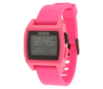 Digitale Armbanduhr 'Base Tide' pink
