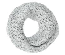 Loop Schal mit Metallic-Effekt grau