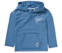 Kapuzenpullover für Jungen himmelblau