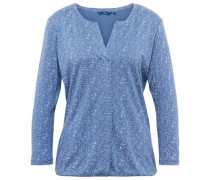 Shirt mit Sternen-Muster himmelblau