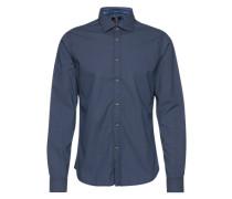 Hemd mit Retro-Muster - Cisteve dunkelblau