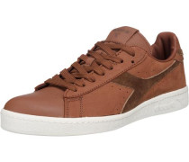 'Game Low Premium' Sneakers braun / dunkelbraun
