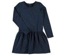 Kleid mit langen Ärmeln nitderit blau