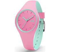 ice-watch Quarzuhr »Ice duo - Pink Mint Duo.pmt.s.s.16« grün / pink