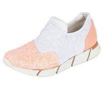 Sneaker puder / weiß