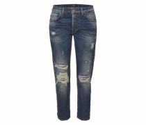 Boyfriend-Jeans 'sanvi Selvedge' blue denim