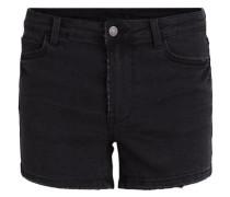 Jeans-Shorts 'virusty Denim Shorts' schwarz