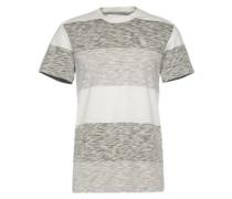Shirt 'Brallio r t s/s' grau / weiß