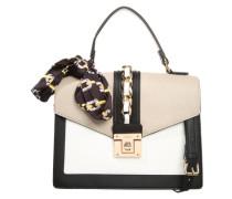 Handtasche 'glendaa' taupe / schwarz / offwhite