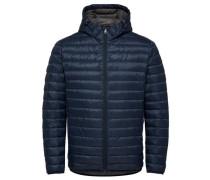 Daunen-Jacke blau