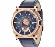 Quarzuhr 'compass Pl15048Jsr.03' marine / rosegold
