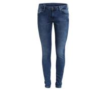 Skinny Jeans 'Aero' blau