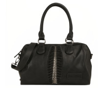 Handtasche 'Carmina' schwarz