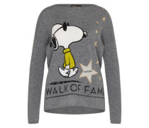 Pullover 'RN Snoopy Walk of Fame' grau