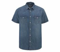 Jeanshemd 'Western Shirt' blau