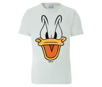 T-Shirt Disney - Donald Duck azur / hellblau