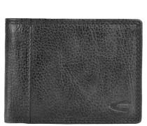 El Paso Geldbörse Leder 13 cm schwarz