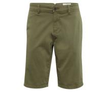 Slim Chino Shorts oliv