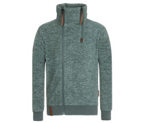 Zipped Jacket Schnitzelpopizel grünmeliert