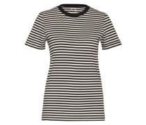 T-Shirt 'SFMy Perfect Tee' schwarz / weiß