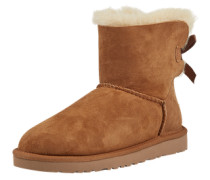 Snowboot 'Mini Bailey Bow' cognac