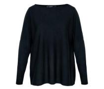 Oversize Pullover aus Merinowolle schwarz