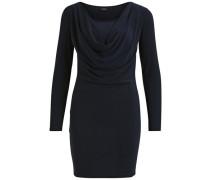 Langärmeliges Kleid blau