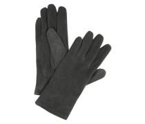 Handschuhe 'Basic Suede' dunkelgrau