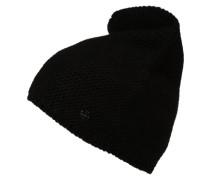 'LinksKnit' Mütze schwarz