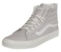 Sneaker High 'sk8' hellgrau / weiß