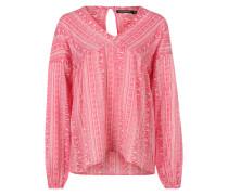 Printbluse 'Eline' pink