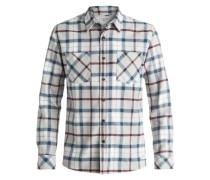 Langarm-Hemd »Fitzthrower Flannel« weiß