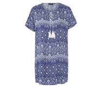 Kleid 'Franya' creme / dunkelblau