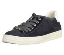 Sneaker creme / dunkelblau