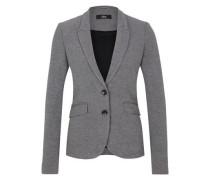Eleganter Jersey-Blazer grau