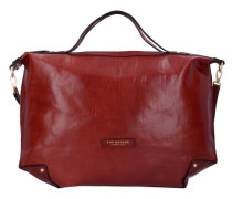 'Icons' Handtasche Leder 50 cm rot