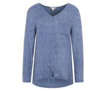 Blusen-Shirt rauchblau