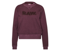 Sweatshirt 'Daefera' bordeaux