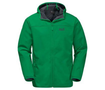 Softshelljacke 'northern Point' tanne