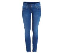 Gerade geschnittene Jeans 'Vera' blau