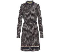 Kleid »Raia Dress LS« beige / schwarz