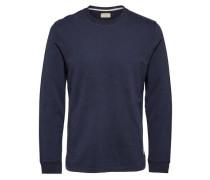 Sweatshirt Crew Neck blau