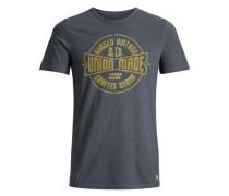 T-Shirt Lässiges grau