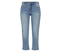 Tapered Jeans 'Level' blue denim