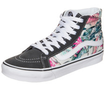 Sk8-Hi Slim Tropical Sneaker hellblau / pink / schwarz / weiß