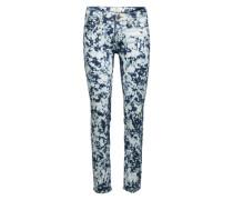 Skinny Jeans 'Scarlett' blau / weiß