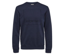 Sweatshirt Crew Neck- blau
